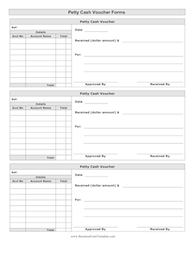 petty cash spreadsheet