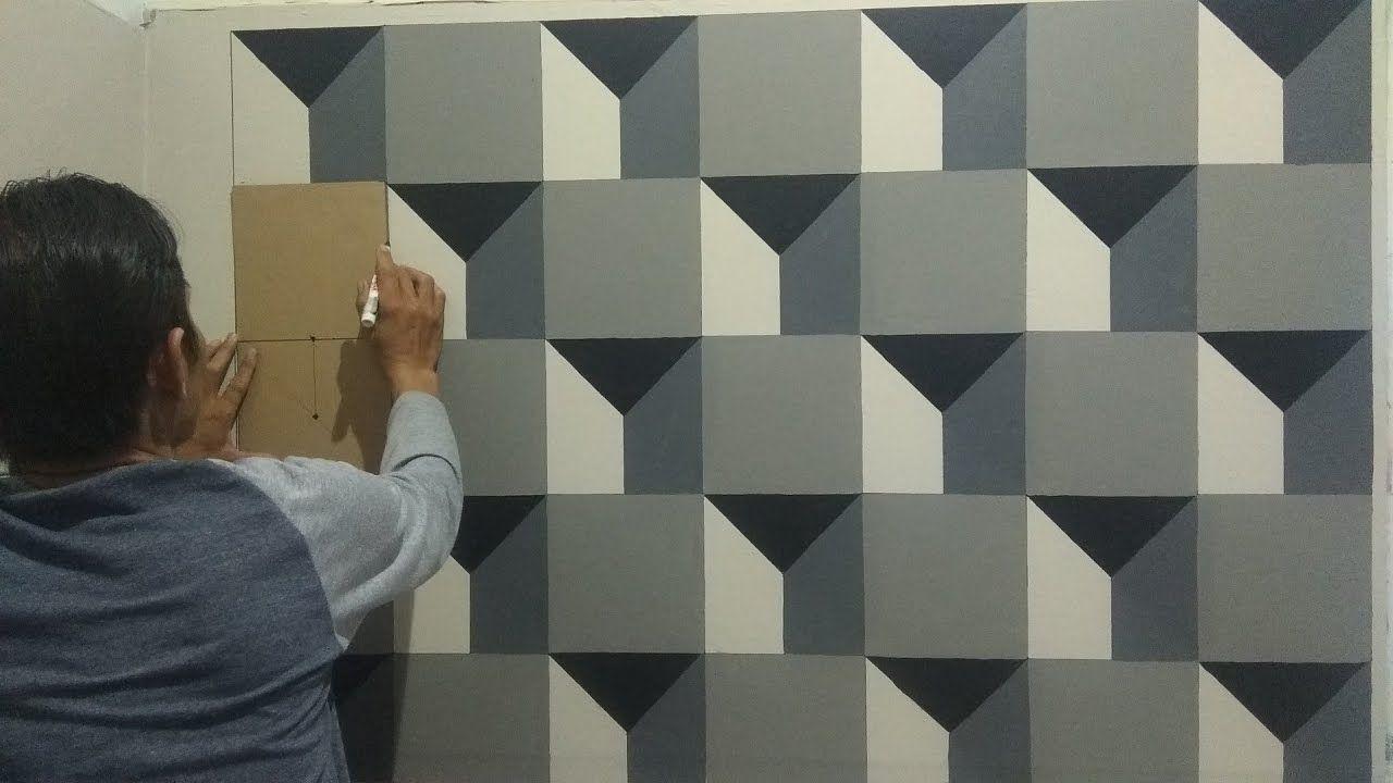 3d 018 Cat Tembok 3d 3d Wall Painting 3d Wall Decoration Design Mural Lukisan Desain Dinding