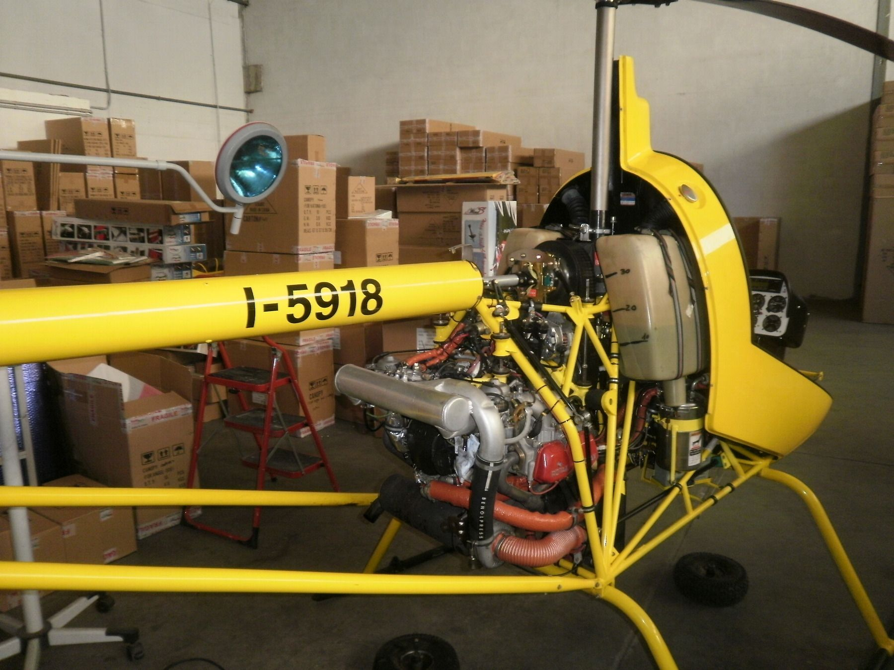 2000 Heli-Sport CH-7 Kompress for sale in (NBZ) Trento, Italy => http://www.airplanemart.com/aircraft-for-sale/Helicopter/2000-Heli-Sport-CH-7-Kompress/10120/