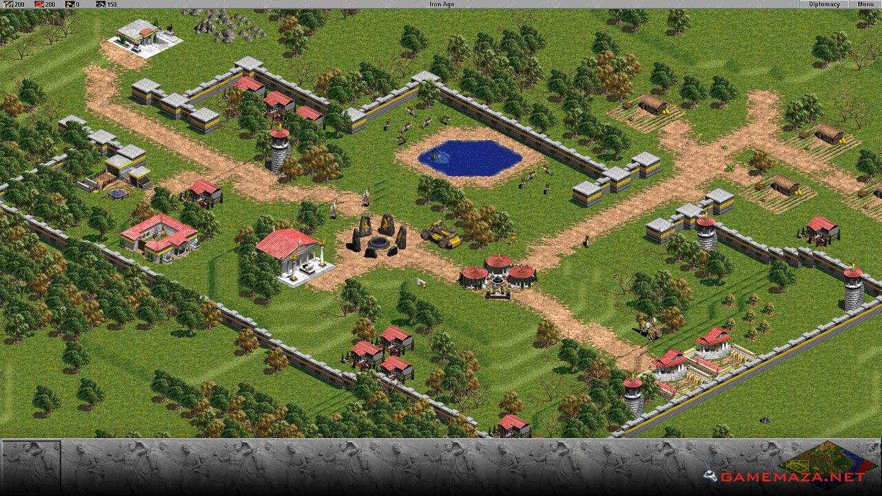 Age Of Empires The Rise Of Rome Free Download Age Of Empires Real Time Strategy Game Real Time Strategy