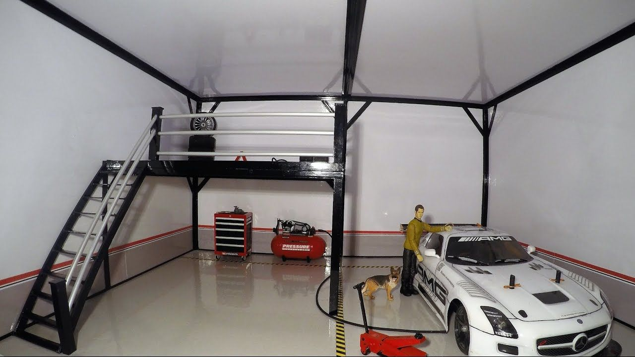 Rc Diorama Garage Homemade Diorama Garage Garage Doors