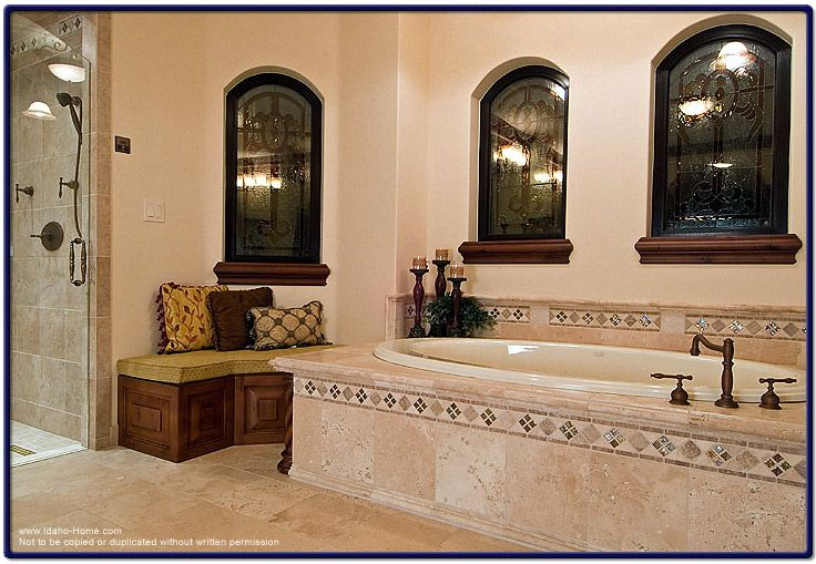 Miraculous 1000 Images About Mediterranean Bathrooms On Pinterest Vanities Inspirational Interior Design Netriciaus