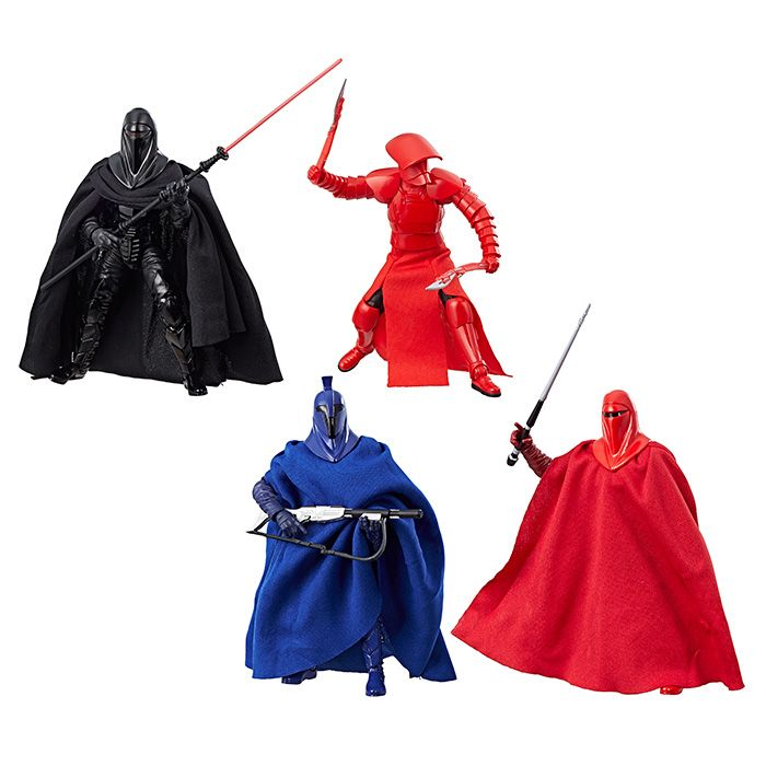 "Star Wars Black Series Imperial Royal Guard 6/""   Guard 4 pack"