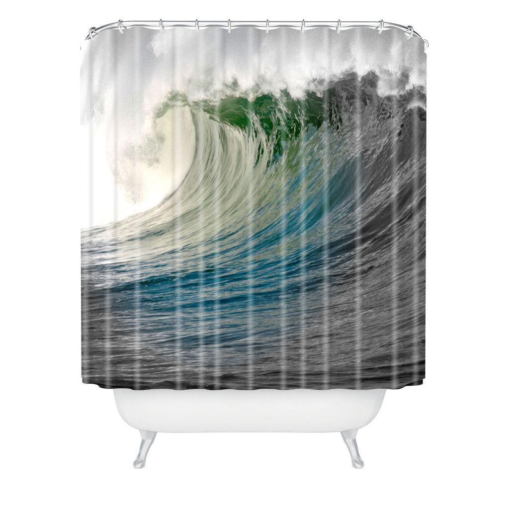 Deb Haugen Waimea Shower Curtain | DENY Designs Home Accessories
