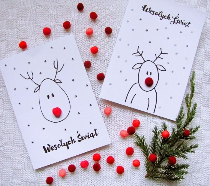 ▷ 1001 + tutos et modèles de carte de Noël à fabriquer | Cartes