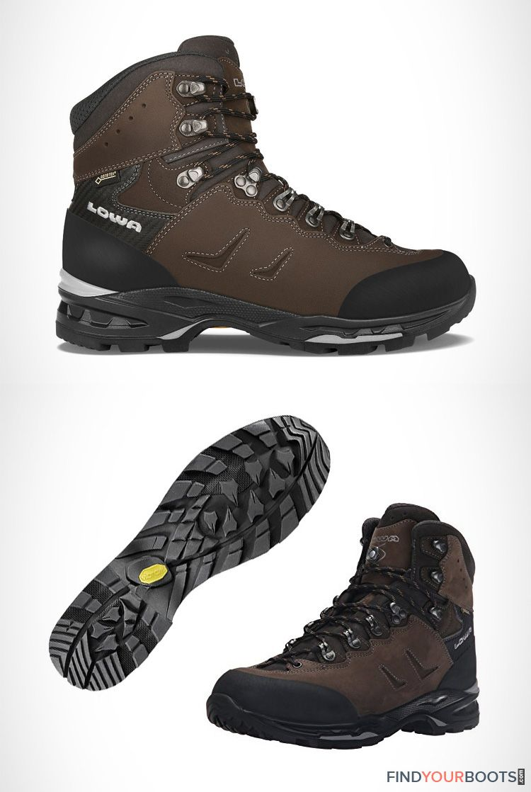 fb341b0c Lowa Camino mens hiking boots | For anyone looking for comfortable and  reliable hiking boots, Vibram sole hiking boots are going to be your best  bet.