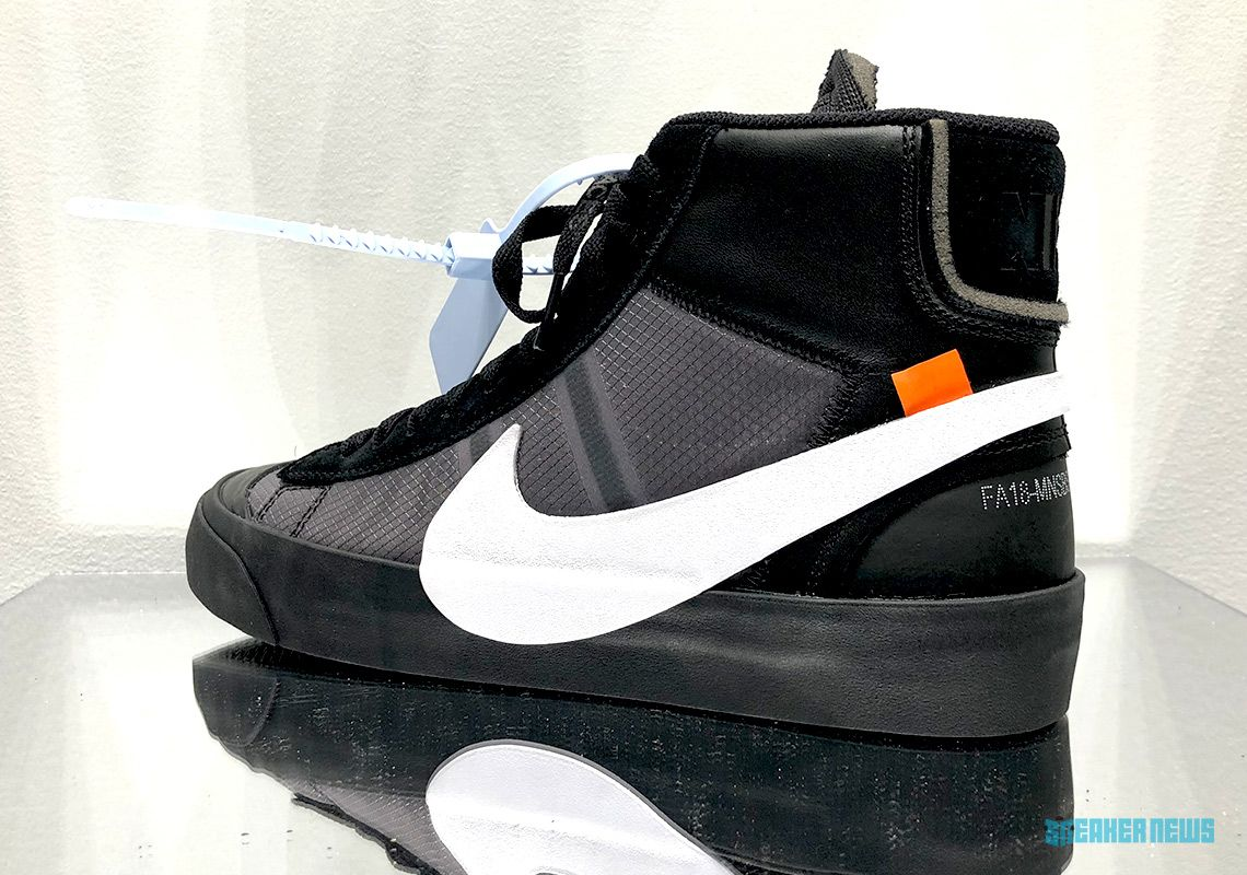 reputable site 7d427 b6fa4 Off-White Nike Blazer All Hallows Eve Grim Reaper   SneakerNews.com