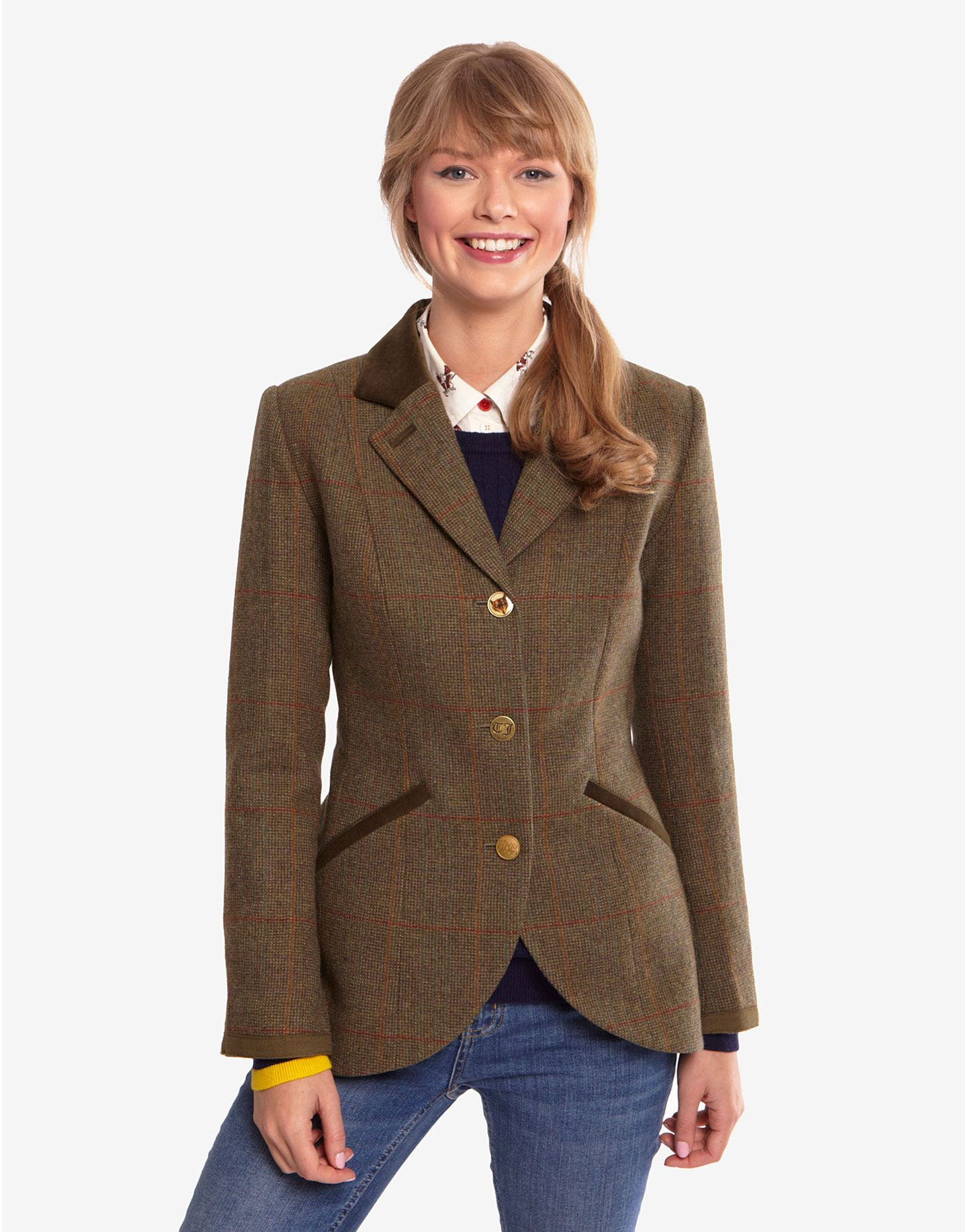 I love this Equestrian inspired Jacket from Joules. It's very ...