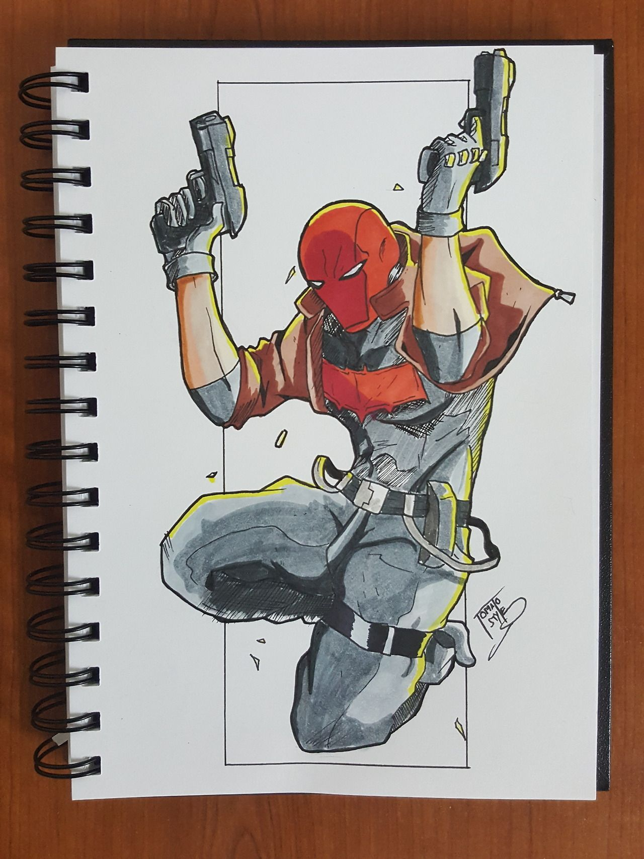 potatoes are the future -tomatostyle 2018 — Drawing challenge day 116 Red hood