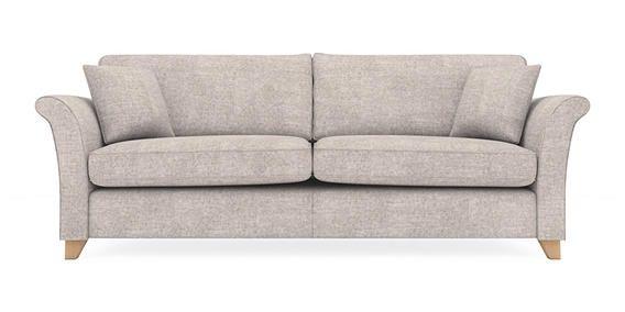 Buy Brompton Extra Large Sofa 4 Seats Sumptuous Velour
