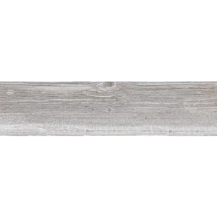 Style Selections Woods Vintage Gray Wood Look Porcelain