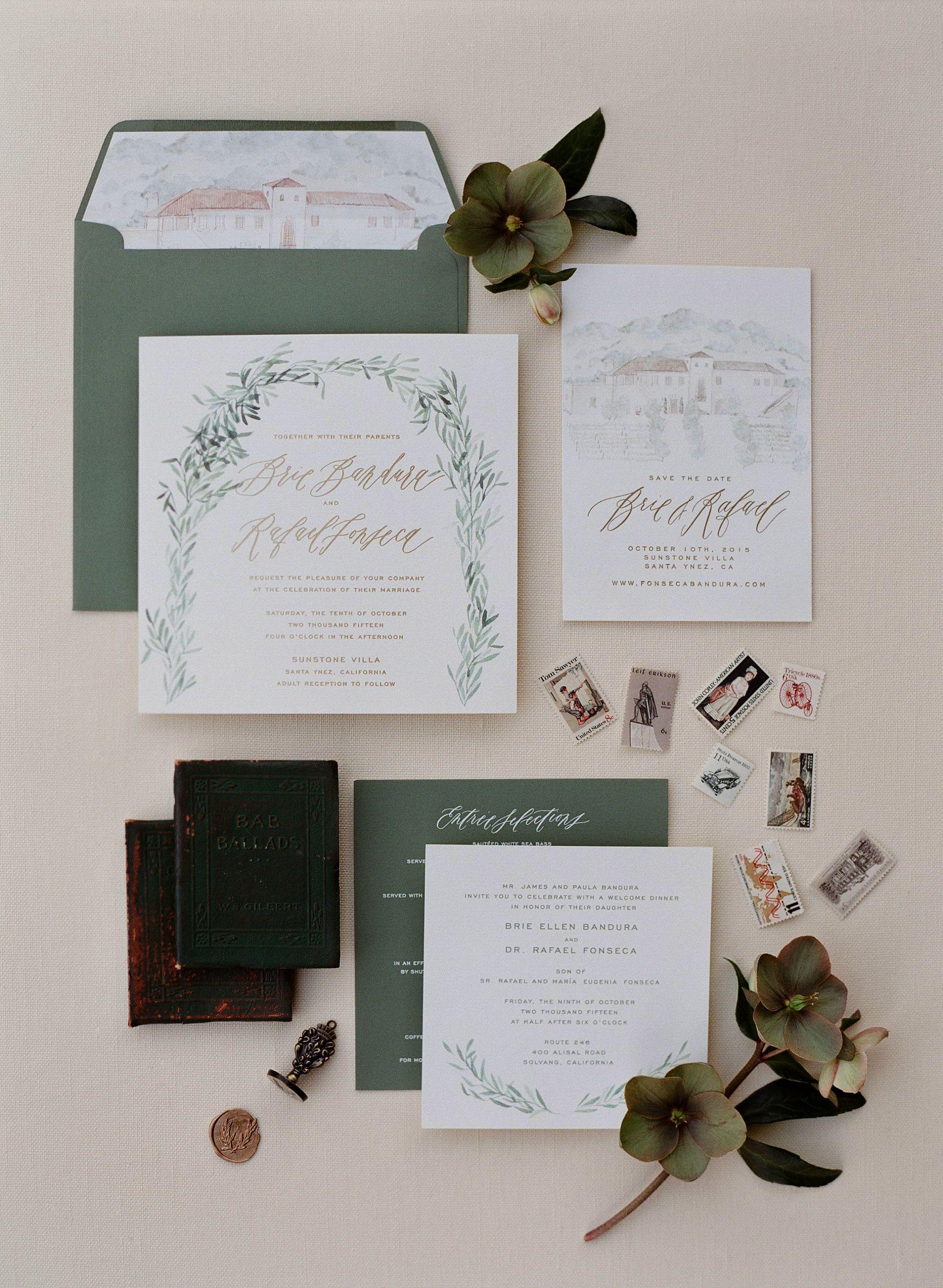 50 Pcs Exquisite Carving Wedding Invitation Kits With Silk Ribbon Purple Calligraphy Wedding Invitation Wedding Invitation Inspiration Olive Green Weddings