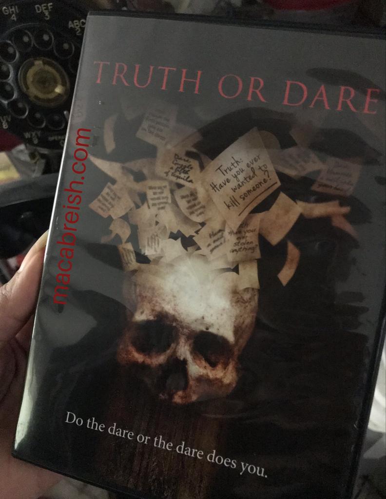 Horror Review Truth or Dare Dares, Horror, Macabre