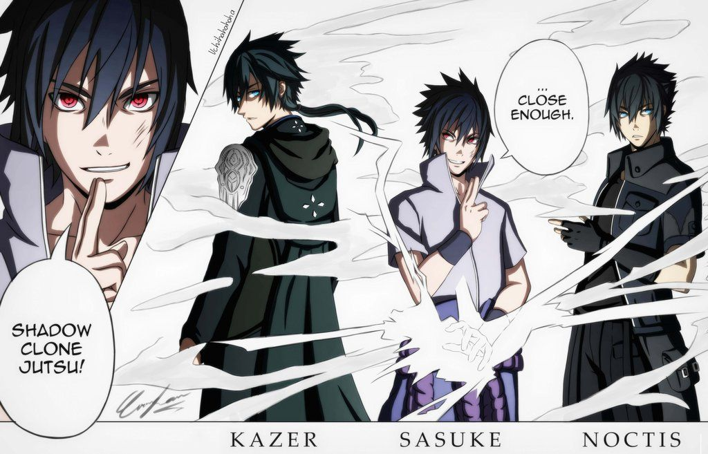 Lost Soul Aside X Naruto Shippuden