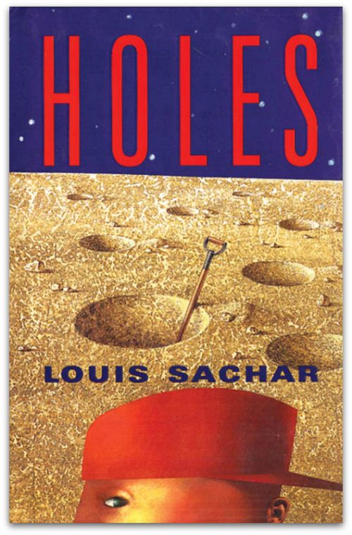 Image result for holes by louis sachar book cover
