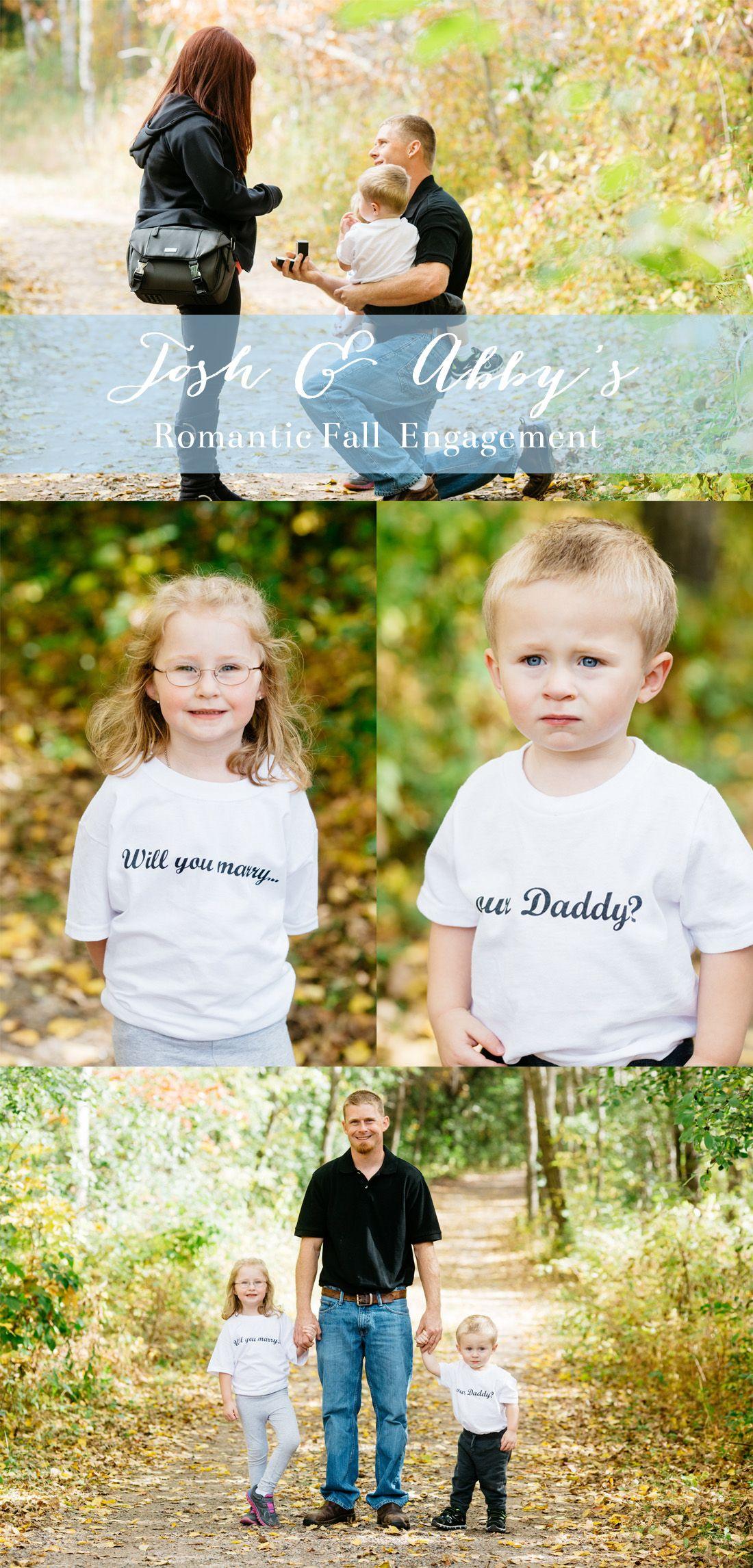 Romantic Fall Proposal Perfect proposal, Wedding day