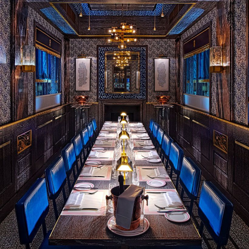 55&5Th The Grill  Private Dining Table  Neil Corder Hotel Beauteous Restaurants With A Private Dining Room Inspiration