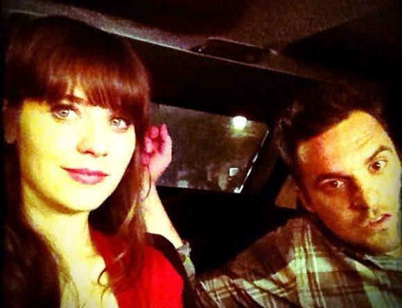 zooey deschanel / jake johnson....JUST DATE IN REAL LIFE ALREADY, IM GETTING IMPATIENT.