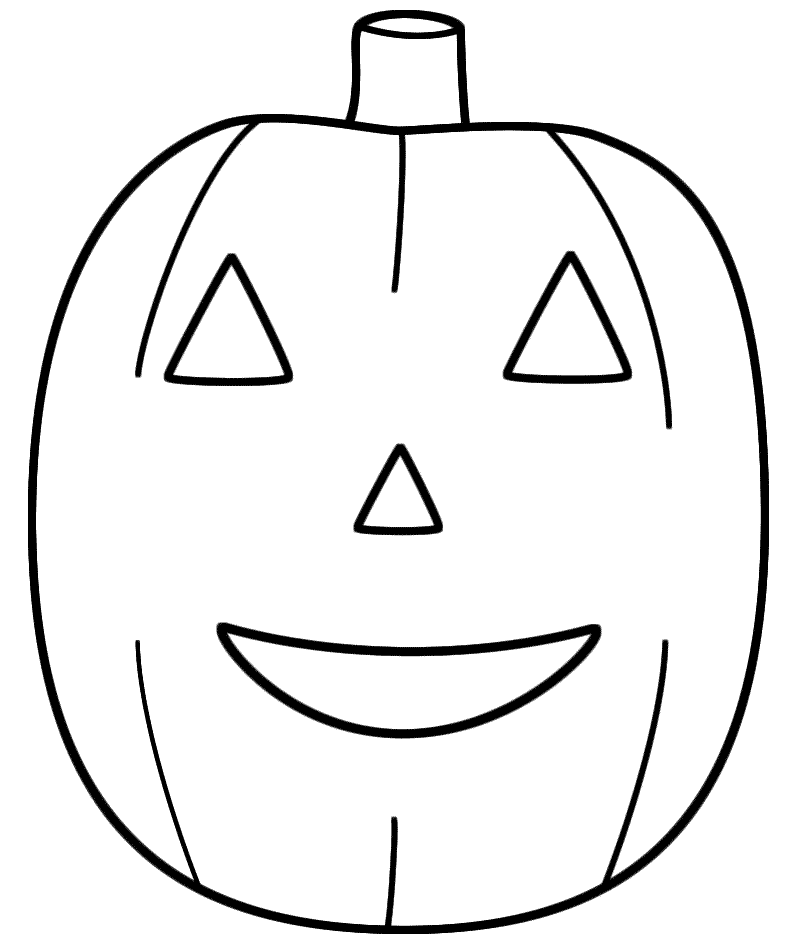 Jack O Lantern Coloring Pages For Toddler Coloring Pages Pumpkin Jack Pumpkin Faces