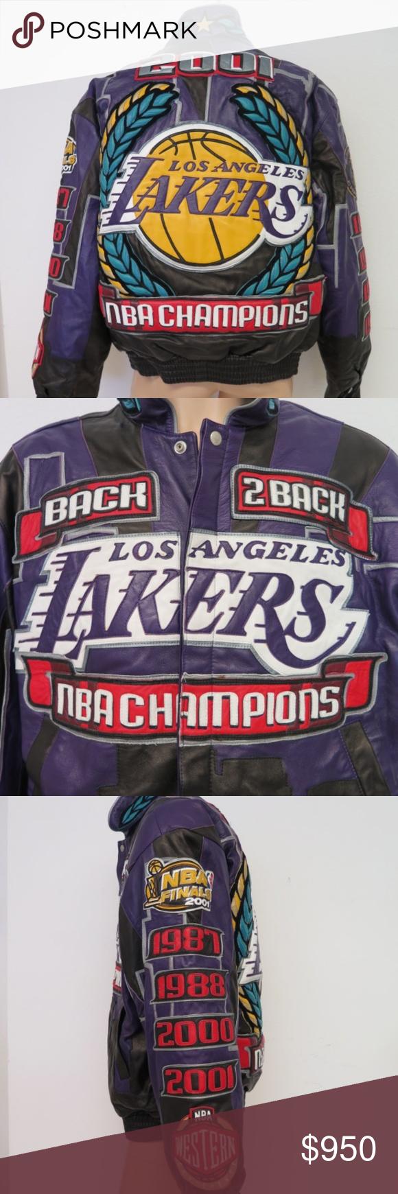 Jeff Hamilton Signed 2001 Lakers Jacket Ltd Ed Lakers Jacket Jackets Clothes Design