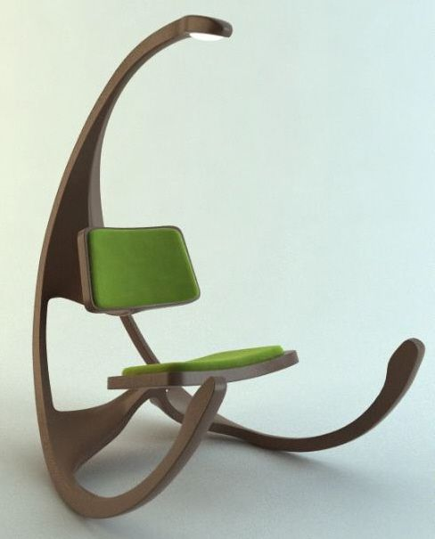 17 Totally Unusual Chair Designs Modern Rocking Chair Unique