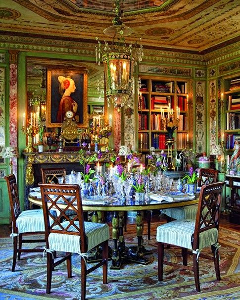Creative Tonic Loves Designer Howard Slatkinu0027s Own Absolutely Insane Dining  Room On Fifth Avenue. I Love The Sort Of Baroque Italian Opulence  Translated To ...