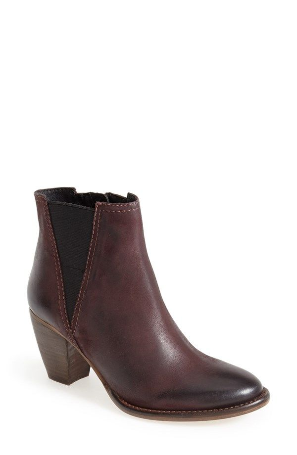 'Shearly' Leather Bootie