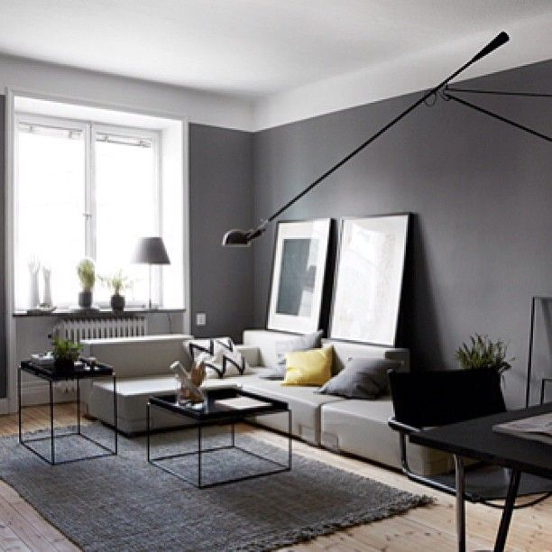 Wallpaper Accent Wall Ideas Living Room Amazing Interior: Thinking About Changing Our Lounge Feature Wall To Grey