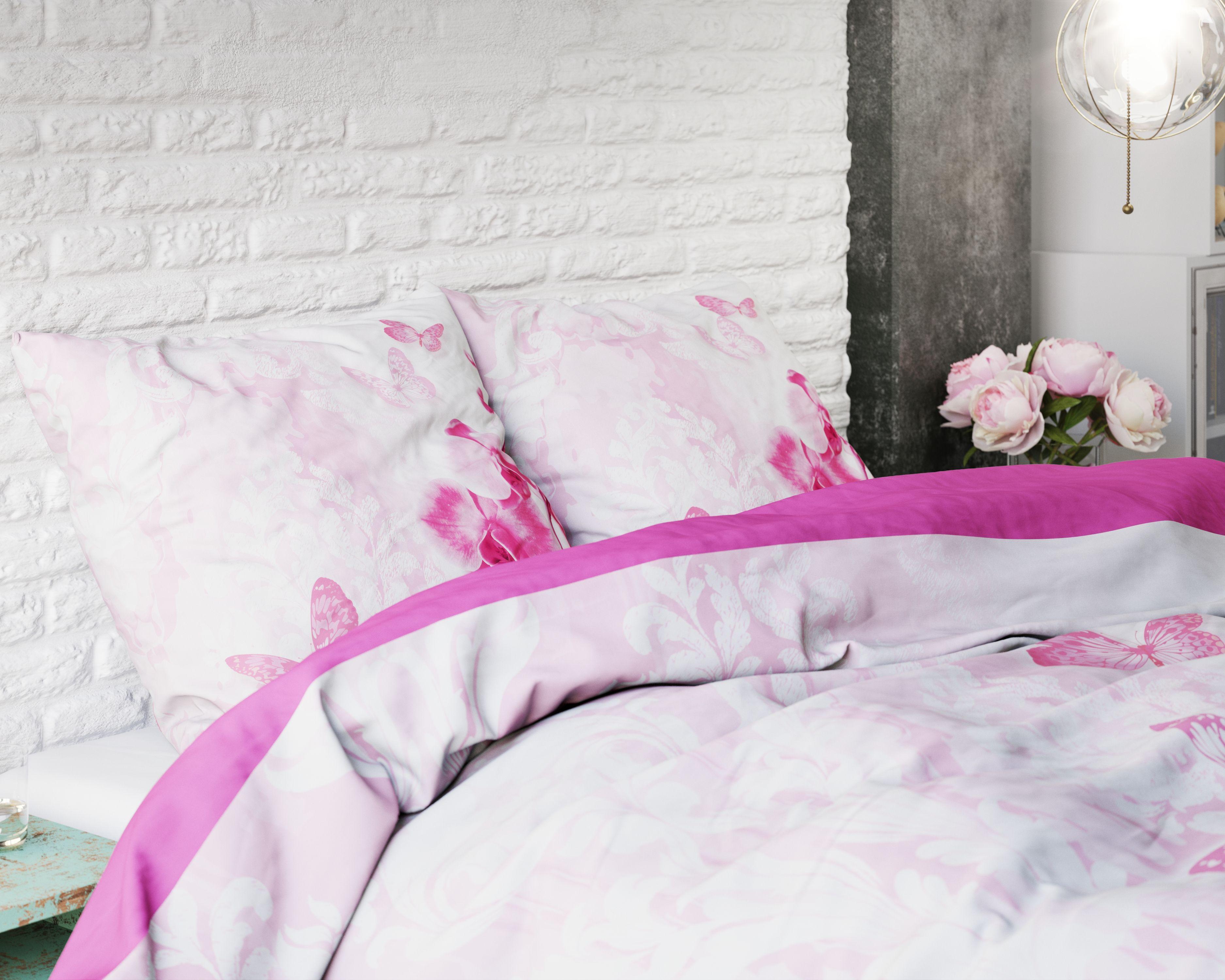 Licht Roze Dekbedovertrek : Het dekbedovertrek dream orchid van sleeptime heeft als basis