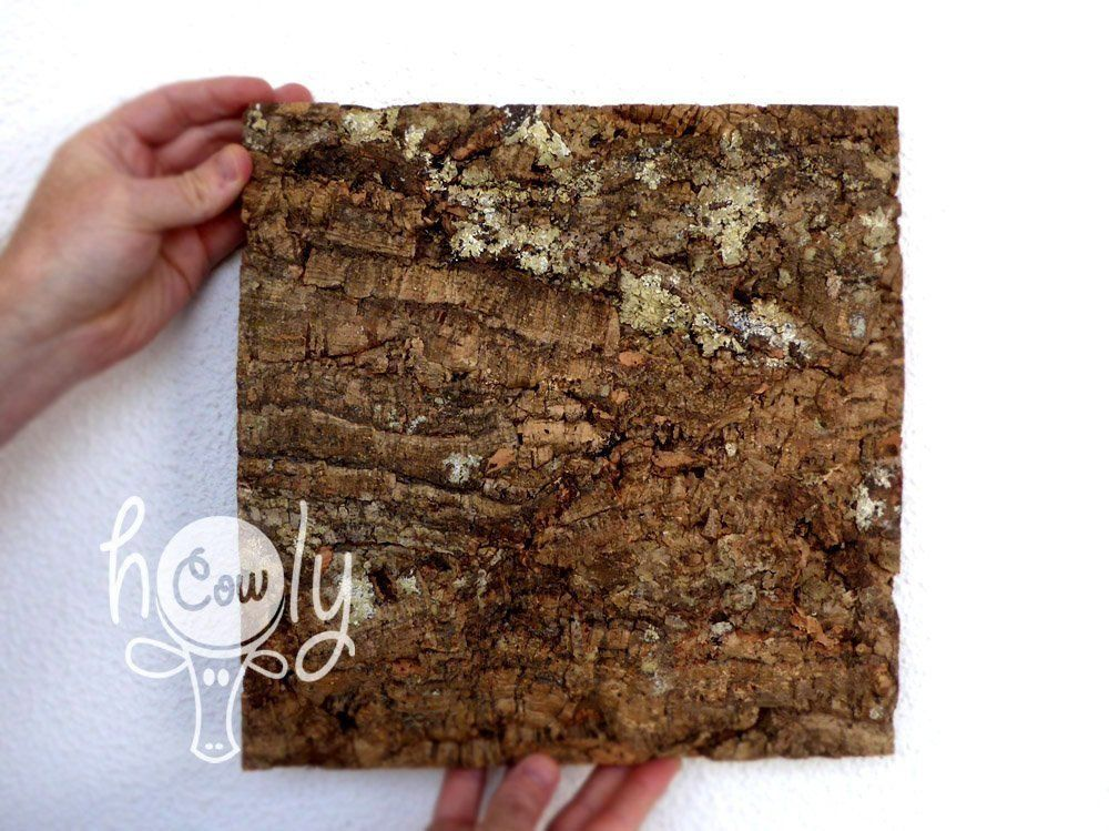 Eco Friendly And 100 Natural Large Cork Bark Tiles Large Etsy Rustic Tile Decorative Tile Wall Tiles