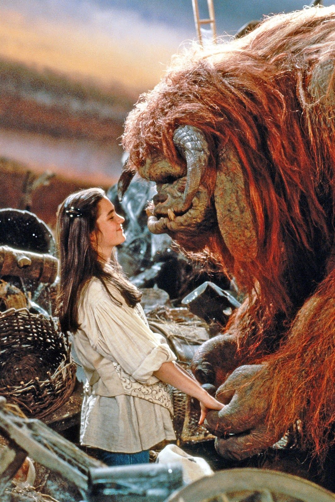 Sarah & Ludo from Labyrinth