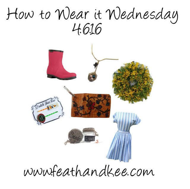 """How to Wear it Wednesday 4.6.16"" by feathandkee on"