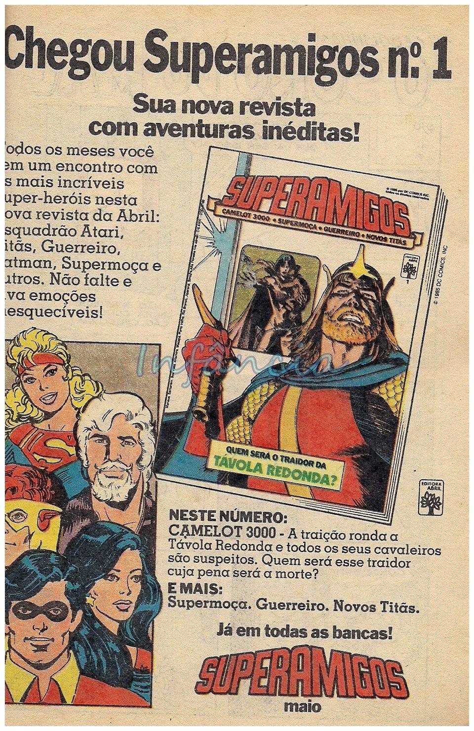 Revista em Quadrinhos Superamigos #nostalgia