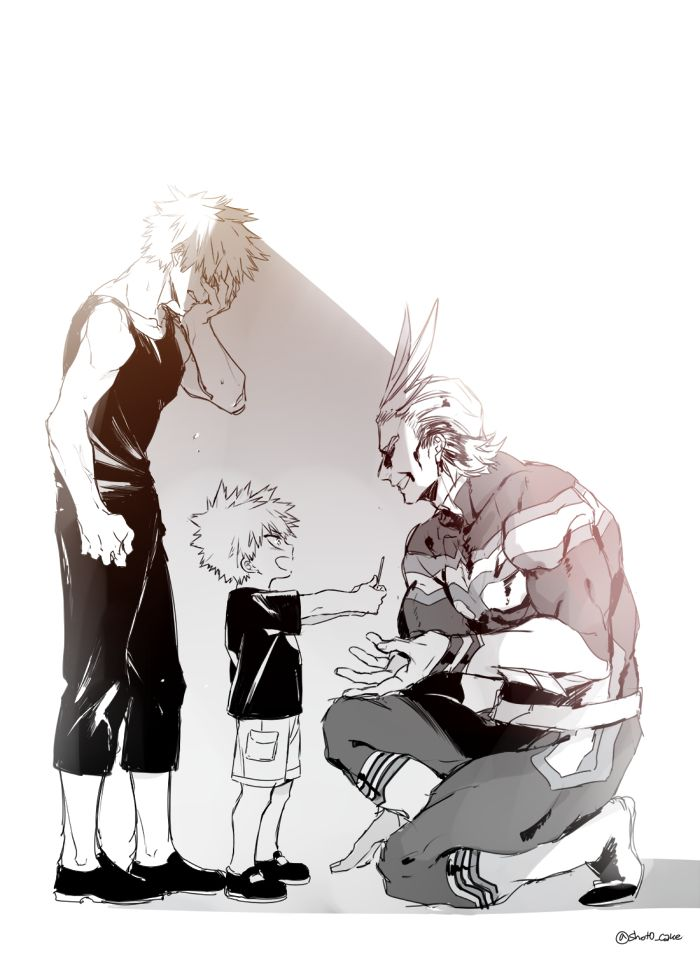 MHA06 [6] bakugou and all might