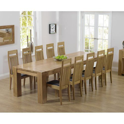 Terrific Barrow Dining Set With 10 Chairs Home Etc Seat Colour Brown Ncnpc Chair Design For Home Ncnpcorg