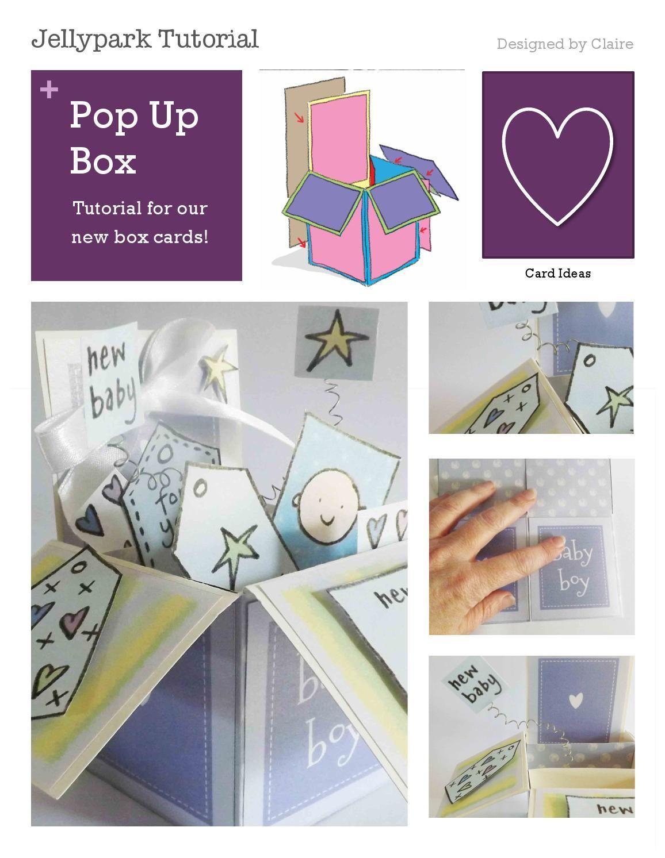 Pop Up Box Card Tutorial Pop Up Box Cards Card Box Card Tutorial