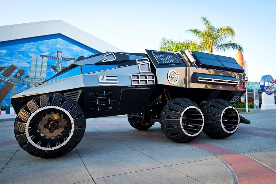Kennedy Space Center Mars Rover Concept Vehichle
