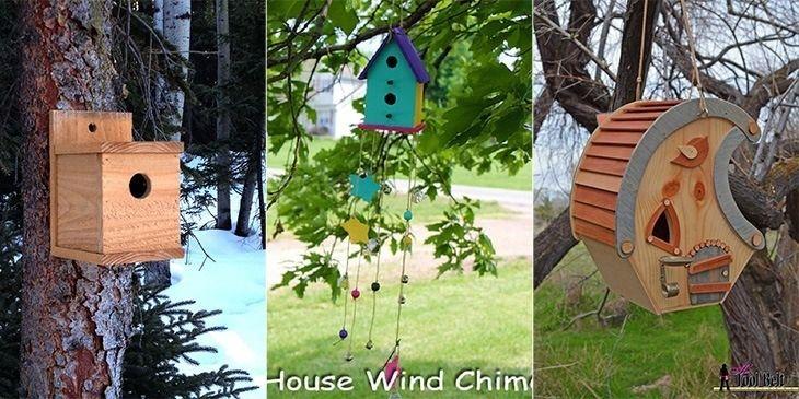 10 kostenlose einfache Vogelhauspläne, die Sie jetzt