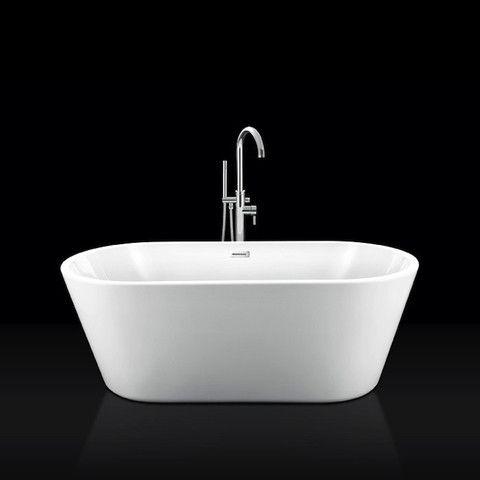 Ba/ñera exenta Resicryl/® 160cm NEW-YORK desag/üe y sif/ón incluido