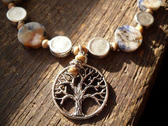 Tree of life meditation bracelet
