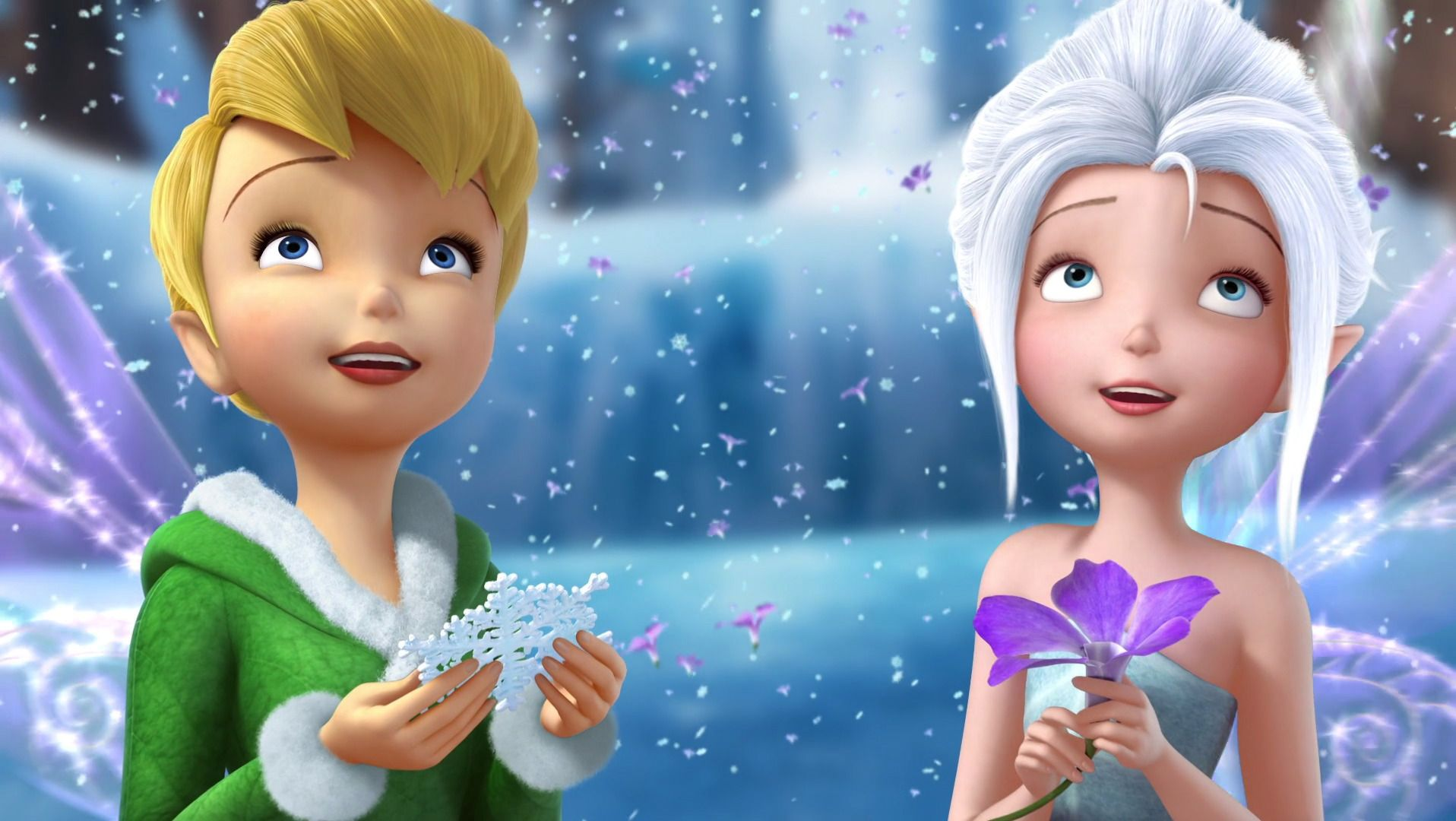 Download Tinkerbell And Periwinkle Wallpaper Widescreen Resolution