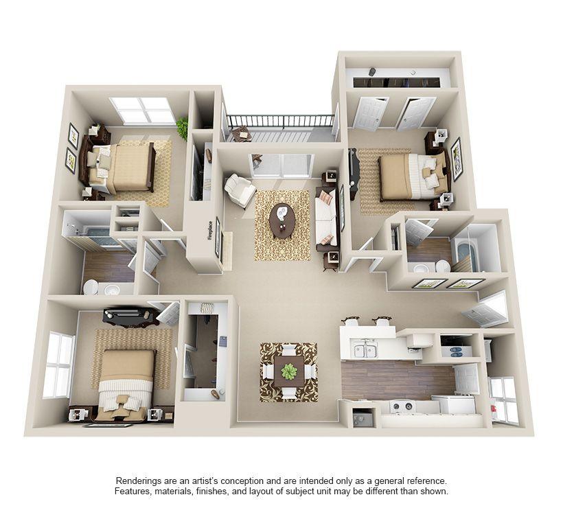 The Ashley 1 Bedroom Apartment Charleston Sc: 1, 2, & 3 Bedroom Apartments In San Antonio, TX (с