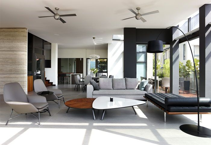 Semi-Detached House in Singapore - #interiordesign | Arch|01 ...