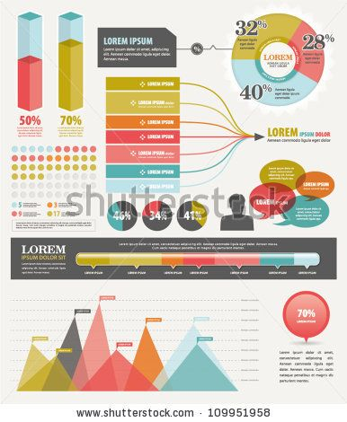 Infographic Ideas making infographics free : stock vector : Set elements of infographics | Infographics & Chart ...