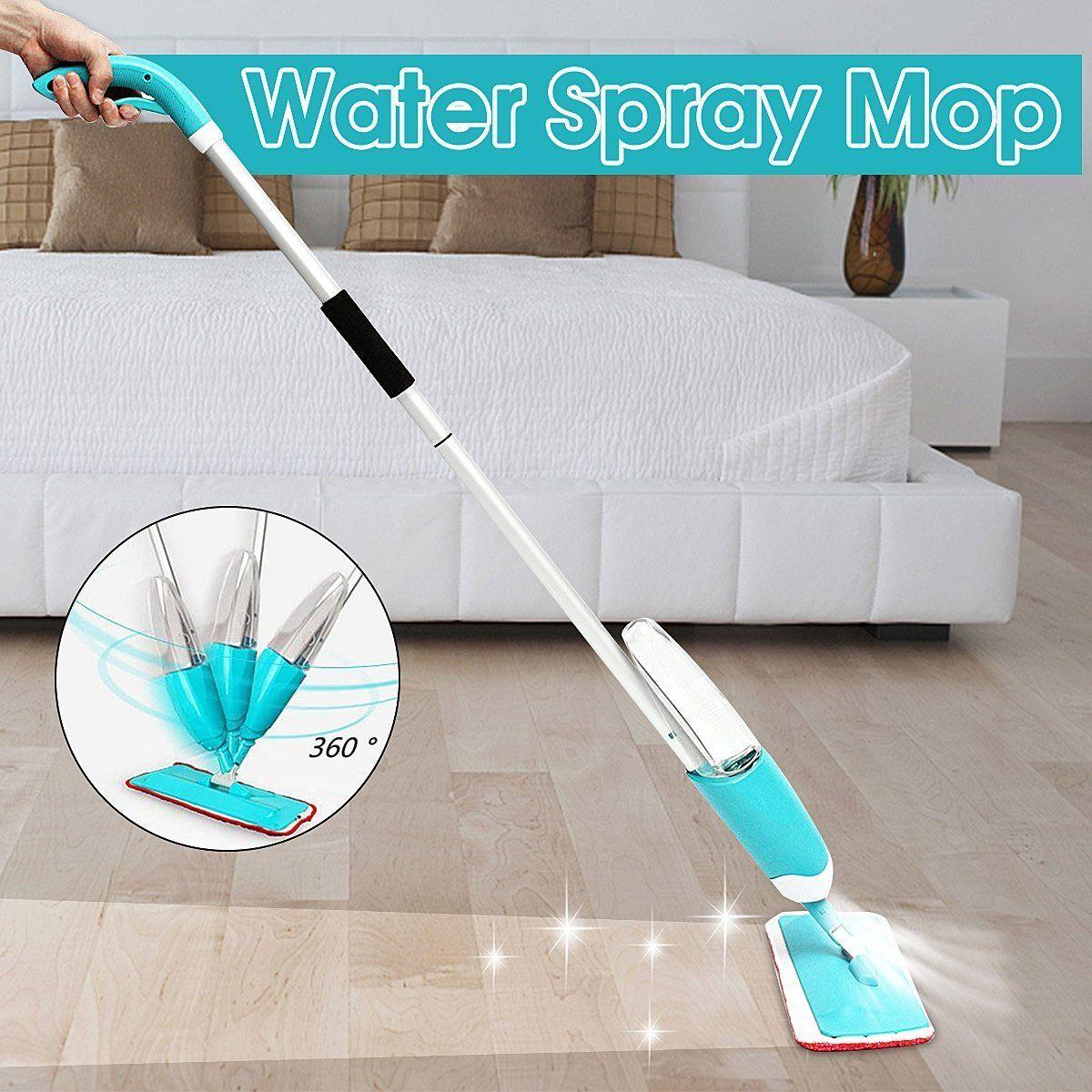set Water Spray Mop 360 Degree Turning Household Home Kitchen Floor ...