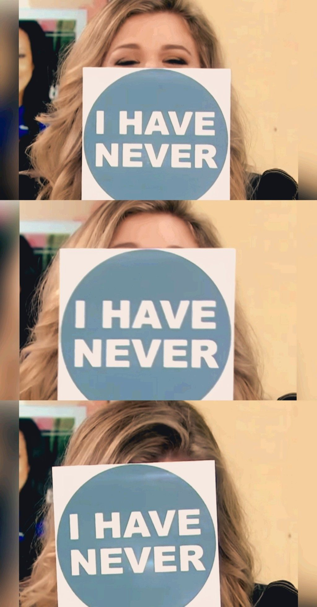 Kelly clarkson never have i ever today show iconic