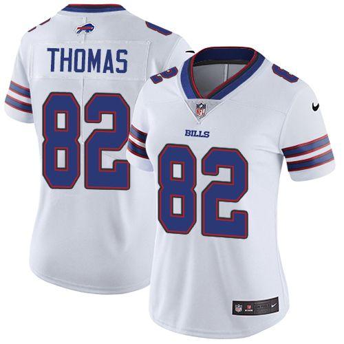 Women s Nike Buffalo Bills  82 Logan Thomas White Vapor Untouchable Limited  Player NFL Jersey 9daf6a22d