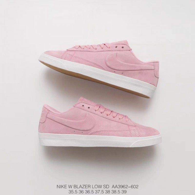 Aa3962 602 Fsr Nike Blazer Low Womens Cherry Blossom Ice