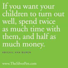 On Raising Children {Quote}