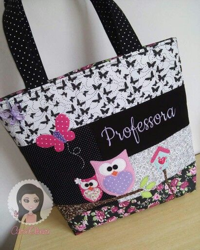 78e7761b5 Bolsa professora   Tasche   Purses, bags, Bags e Tote Bag